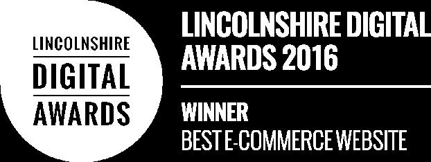 Lincoln Digital Awards - Winner 2016 - Best Ecommerce Website
