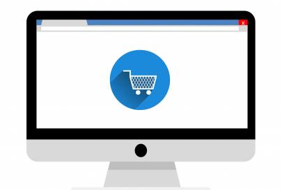 image showing widescreen eCommerce site